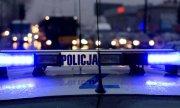 na zdjęciu policyjne sygnały świetlne na dachu radiowozu